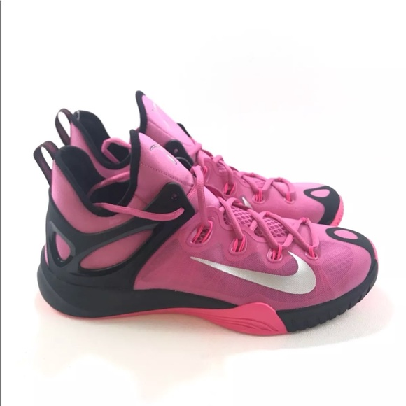 best service 2ae9a d209f Nike Zoom HyperRev 2015 Pink Breast Cancer Kay Yow